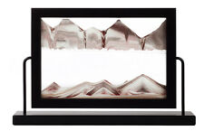 Rainbow Vision Sand Picture Window Series Desk Wall Frame Black Maple White Gift