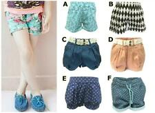 Girls Shorts Pants Summer Fashion Clothing Age 1 2 3 4 5 6 7 8 (Lace, Polka Dot)