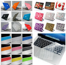 "Rubberized PC Hard Case Keyboard Cover For New Macbook Air 13"" & 11"" 2010-2013"