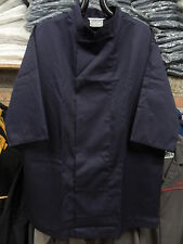 Chef's Care Navy Blue Chef Jackets – Medium to XXL Sizes