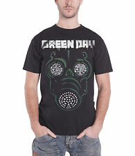 Green Day Green Mask Official Mens New Black T Shirt All Sizes