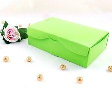 Lime Green * Wedding Cake Slice Sweet Chocolate Favour Boxes Birthday Party Gift