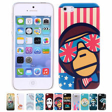 2014 Cheap Colorful Shell Protect Phone Skin Case Cover For Apple iPhone 5/5s