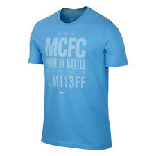 Nike Manchester City 2013-2014 Poly Core Foundation Soccer Shirt  New Sky Blue