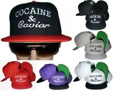 Men's Cocaine Caviar Crooks Castles Hip Hop Baseball Snapback Caps Hats SH01