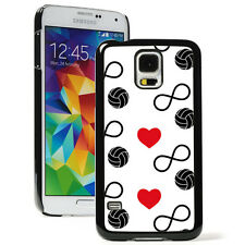 For Samsung Galaxy S3 S4 S5 S6Edge Hard Case 999 Infinity Love Volleyball Hearts