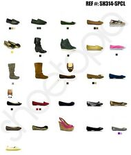 Wholesale Womens Shoes Lot - FLATS Liquidation Pick Your Size w/ Various Styles