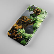 Hulk vs Thing Marvel Superheroes Clash For iPhone 5s 5 4S 4 Hard Case Cover
