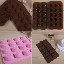 Lovely Heart Rose Pig Cake Mold Chocolate Cake Jelly Fondant Cookie Ice Mould