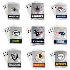 NFL Diamond Plate Playing Cards - Standard Size