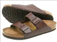 Birkenstock Birko-Flor Arizona $129.95rrp - Dark Brown  - BNIB