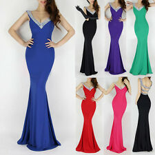 Ladies Supper Sexy Back Bridemaid Evening Party Prom Grace Karin JS Long Dress