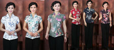 Free Shipping!New Arrival Chinese Tradition Women's Shirt Blouse Tops M-4XL