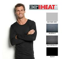New Weatherproof 32 Degrees Heat Long Sleeve Crew Neck Base Layer S M L XL XXL