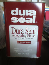 DURA SEAL FINISH FOR WOOD FLOORS ASSORTED COLORS 1 GALLON