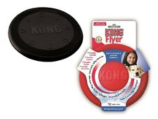 Kong K9 FLYER For Dogs - Natural Soft Rubber Frisbee Disc Fetch Toy CHOOSE STYLE