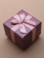 1/6 EXECUTIVE PAPER GIFT BOXES &  PAD INSERT FOR RINGS IN MANY COLOURS