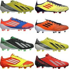 Adidas F50 ADIZERO TRX FG men's football boots shoes studs leather NEW