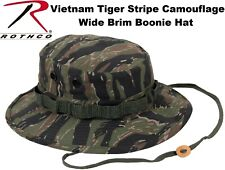 Tiger Stripe Camouflage Military Tactical Wide Bucket Hunting Boonie Hat 5816