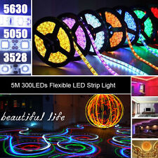 High Quality 5M 300LEDs SMD 3528/5050/5630 Flexible LED Strip Light | DC 12V