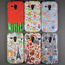 Cartoon Cake Ice cream Soft Case Cover For Samsung Galaxy Trend Plus S7580 S7582