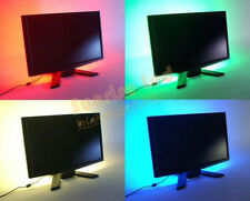 LED Strip Light TV Background Lighting Kit Single Colour With 5V USB Cable