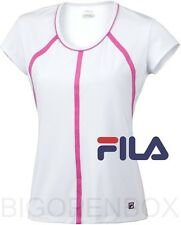 FILA PERFORMA Heritage Cap Sleeve Top Tennis Golf UV Protection S M L