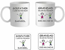 PERSONALISED MUG/COASTER,FATHERS DAY,BIRTHDAY,CHRISTMAS,CHRISTENING GIFT PRESENT