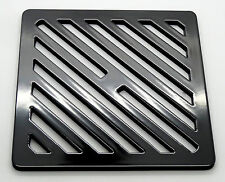 """7"""" Square metal steel Gully Grid Heavy Duty Drain Cover like cast iron, stronger"""