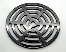 """11"""" Round Metal steel Gully Grid Heavy Duty Drain Cover like cast iron"""