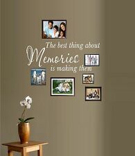 The Best Thing About Memories, is Making Them ~ Wall or Window Decal