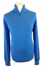 M&S / Marks And Spencer Pure Cotton Half Zip Jumper (13 Colours, S - XXL Sizes)
