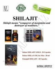 SHILAJIT GOLD CAPSULES SHILAJIT CAPSULES, OIL for Men Strength, Stamina, Libido