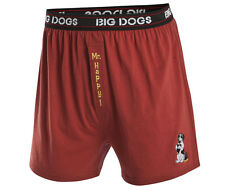 Big Dogs Men's Mr. Happy Embroidered Knit Boxers