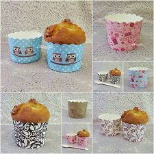 50-100Pcs Muffin Cupcake Baking Cup Paper Liner Party Wedding Birthday _MC1