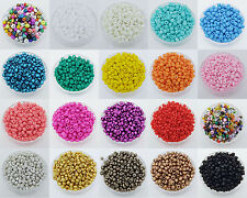 1000 Pcs 2mm Czech Glass Seed Spacer beads Jewelry Making DIY Pick Color / Mixed
