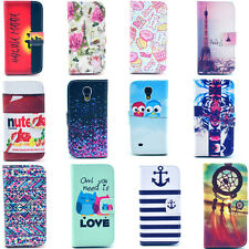 Fashion COOL LEATHER Card CASE COVER For iPhone 4 5 Samsung Galaxy S4 Mini HTC