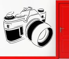 Wall Stickers Vinyl Decal Camera Picture Photographer Snapper Decor (z2300)