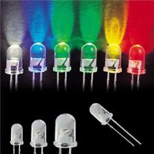Ultra Bright LEDs 3mm 5mm 10mm Red,Blue,White,Green,Yellow Colourful LED BULB UK