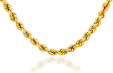 10k Yellow Gold Rope Ultra Light Chain Lobster claw Clasp 2.5mm ( Made in USA )