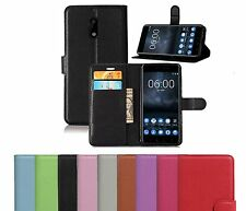 New PU Leather Flip Wallet Book Case Cover Pouch For Nokia Lumia Mobile Phone
