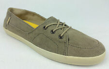 "VANS. ""Surf Siders"" PALISADES Women's Classic Fit Shoes. KHAKI US W 10 10.5 & 11"