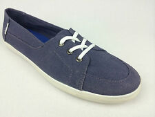 "VANS. ""Surf Siders"" PALISADES Women's Classic Fit Shoes. BLUE Hemp. US W 10 & 11"