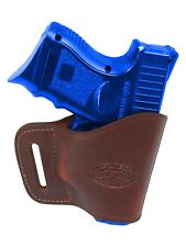 New Barsony Burgundy Leather Yaqui Gun Holster Smith & Wesson Compact 9mm 40 45