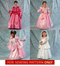 SEWING PATTERN! MAKE GIRLS PRINCESS~BRIDE~QUEEN COSTUME! 2~5 OR 6~81 DRESS~UP