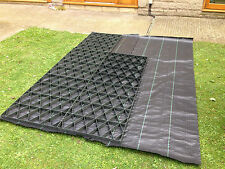 GARDEN SHED BASE KIT +H DUTY MEMBRANE AIR FLOW GROUND GRID GREENHOUSE BASE GRIDS