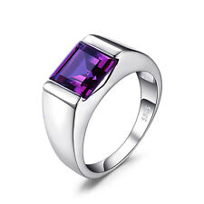 8.4ct Alexandrite Sapphire Men's Ring Solid 925 Sterling Silver Sz. 7 8 9 10 11
