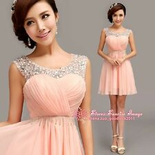 FS070 Newest Formal Evening Prom Party Dress Bridesmaid Dresses Ball Gown Gift