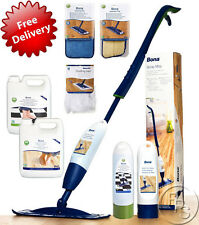 Bona Spray Mop, Pads, Cartridges, Refills To Clean Wooden/Tile/Laminate Flooring