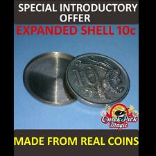 10 CENT AUSTRALIAN EXPANDED COIN SHELL / MADE FROM REAL COINS! PREMIUM QUALITY!